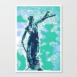 Iustitia Canvas Print