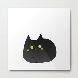 cat 42 Metal Print