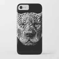 pitbull iPhone & iPod Cases featuring Pitbull by BIOWORKZ