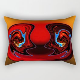 Clear Expression Rectangular Pillow