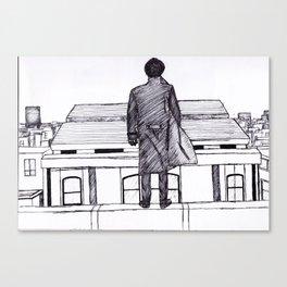 Reichenbach Fineliner Sketch Canvas Print