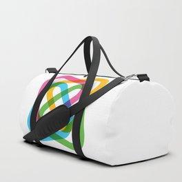 Colorful Swirl Duffle Bag