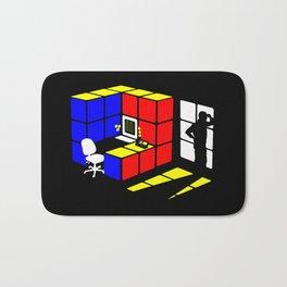 Rubix Cubicle Bath Mat