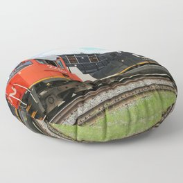 Canadian National Railway Floor Pillow