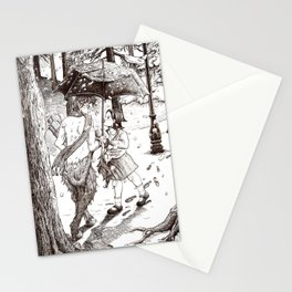 The Lion, the Witch and the Wardrobe Stationery Cards