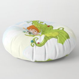 Jack and the Beanstalk Floor Pillow