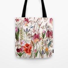 Bright spring field. Romantic pattern Tote Bag