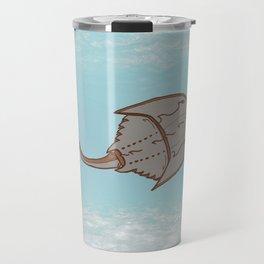 ask me about horseshoe crabs Travel Mug