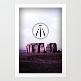 the Awen Art Print