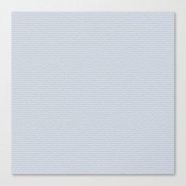 Light Blue Cold Pressed Watercolour Paper Texture Canvas Print