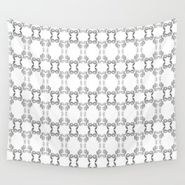 Hand drawn Seed Pods Pattern Wall Tapestry