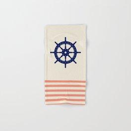 AFE Navy Helm Wheel Hand & Bath Towel