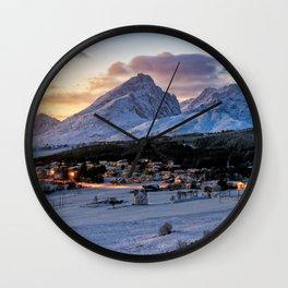 Borge, Lofoten Norway Wall Clock