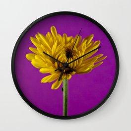 Grape and Lemon Wall Clock
