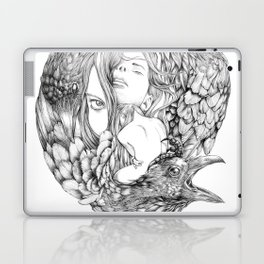 Brenna Whit - Line Laptop & iPad Skin