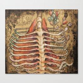 Little Lung Canvas Print