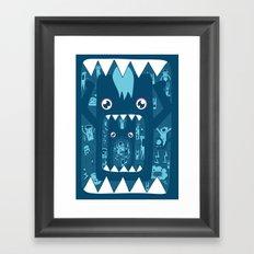 Full. Framed Art Print
