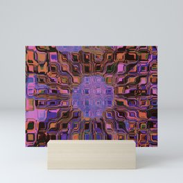 Splitting  Boxes.                        No.-1 Mini Art Print