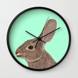 Roger - Bunny, Rabbit, Pet, Cute, Easter, Pet Rabbit, Pet Friendly, Bunny Cell Phone Case Wall Clock