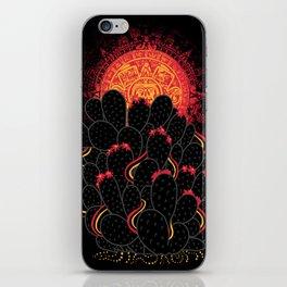 Cactus Sunset iPhone Skin