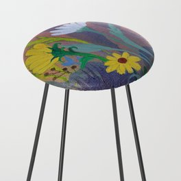 Summer Butterfly Counter Stool