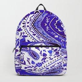 Ultra Violet Watercolour Mandala Pattern Backpack