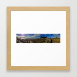 First Beach, La Push, Washington Framed Art Print