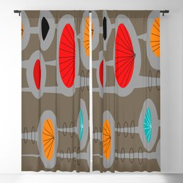 Mid-Century Modern Space Age Blackout Curtain