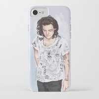 coconutwishes iPhone & iPod Cases featuring Harry 1D tattoos T-shirt by Coconut Wishes