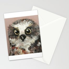 Nursery Art / Nursery Decor - Baby Owl Stationery Cards