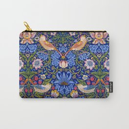 "William Morris ""Strawberry Thief"" 1. Carry-All Pouch"