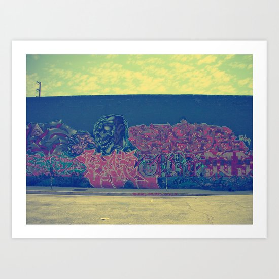 Graffiti II Art Print