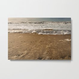 Beach Waves Travel Landscape Photography- Colorful Beaches - Framed Art print  Metal Print
