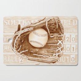 Softball Cutting Board
