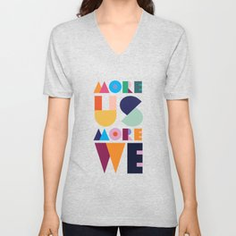 More Us More We - ByBrije Unisex V-Neck