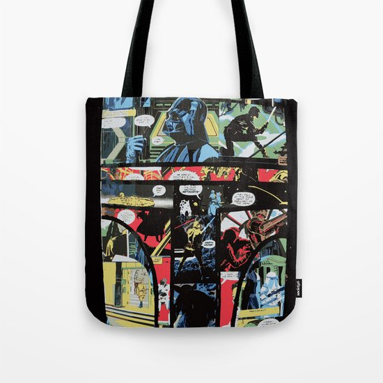 Boba Fett Collage Tote Bag
