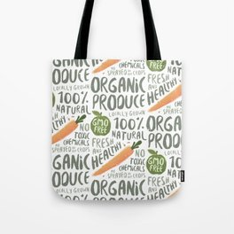 Organic Produce Tote Bag