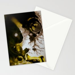 Alien embryo, acrylic on canvas Stationery Cards