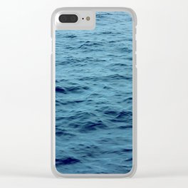 OCEAN - SEA - WATER - WAVES Clear iPhone Case