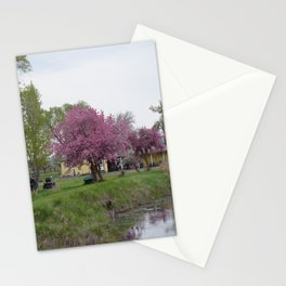 Placidity Along Highway 97 Stationery Cards