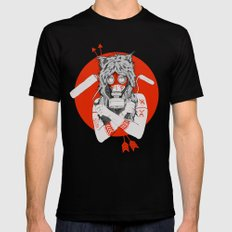 Lady of the Wild Black Mens Fitted Tee MEDIUM