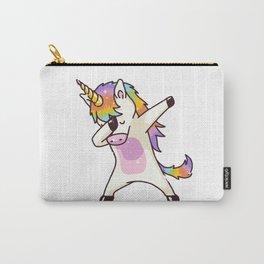 Dabbing Unicorn Shirt Dab Hip Hop Funny Magic Carry-All Pouch