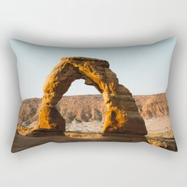Arches at Sunrise Rectangular Pillow