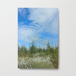 Swamp flowers Metal Print