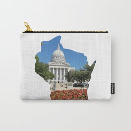Beautiful Capitol Building in Wisconsin Carry-All Pouch