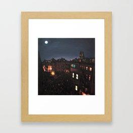 Full Moon, Chelsea Framed Art Print