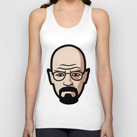 walter white Tank Tops featuring Walter White by Joe Bidmead