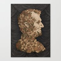 lincoln Canvas Prints featuring Lincoln by Jessica Roux