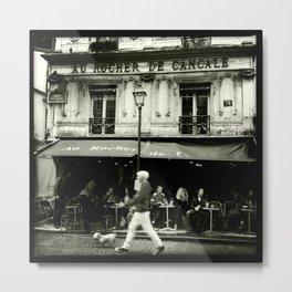 streetphotography paris Metal Print