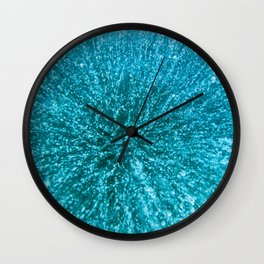 Baikal ice texture Wall Clock